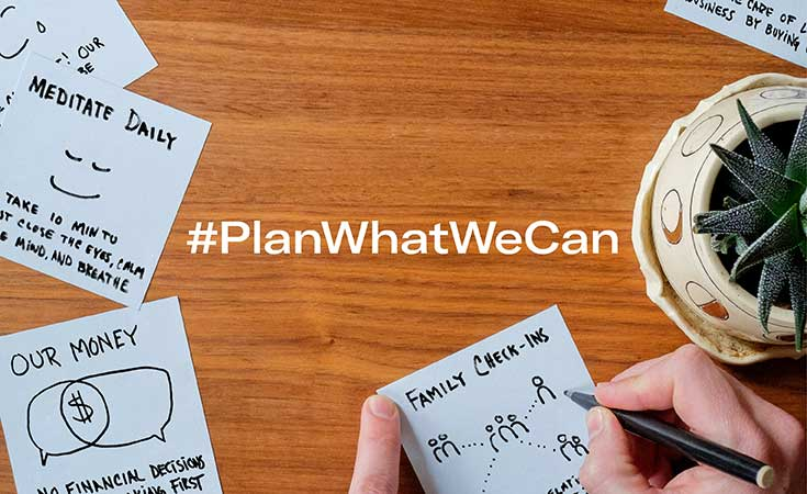plan what we can